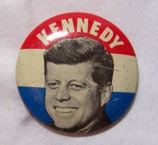 1960 John F Kennedy JFK President Campaign Button Pinback Pin Political