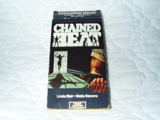 Chained Heat VHS Linda Blair Sybil Danning John Vernon