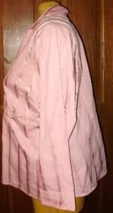 Womens Plus Size Shirt 26 28 4X LANE BRYANT Pink NEW