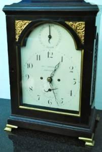 George III Double Fusee Verge Bracket Clock Clock John Penistan Horncastle TLC