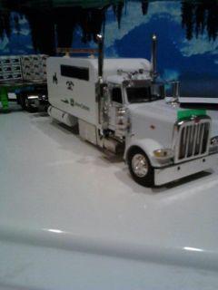 1 64 385 Peterbilt John Deere Mondo Sleeper Custom DCP Truck Trailer
