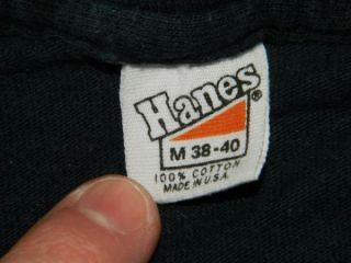 Vtg The Babys 1980 Union Jacks Promo T Shirt Tour John Waite Journey 80s Med