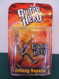 Guitar Hero Johnny Napalm Action Figure McFarlane Toys New In Package