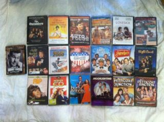 Lot of Used DVD's TV Series Classics