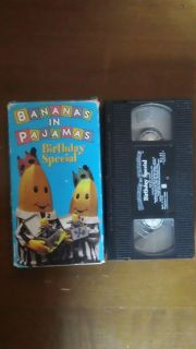 1995 BANANAS IN PAJAMAS VHS VIDEO BIRTHDAY SPECIAL TV SHOW GC