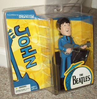 2004 McFarlane The Beatles John Lennon Figure New SEALED