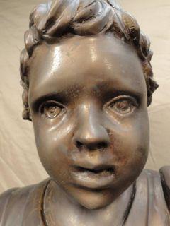 Antique Van de Voorde Spelter Bronze Sculpture Statue Georges Abel Vandevoorde