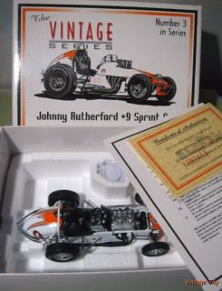 Johnny Rutherford USAC Indy Dirt Champ Esso Race Car GMP 1 18 Diecast
