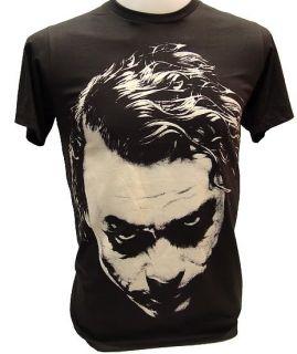 Joker Heath Ledger Retro T Shirt Vintage Batman M