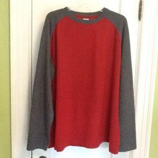 New JNW John W  100 Cashmere Baseball Style Sweatshirt Sweater XL XLL