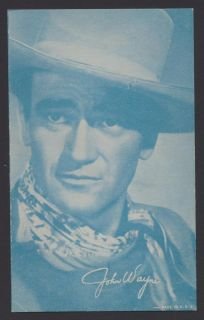 John Wayne Exhibit Arcade card