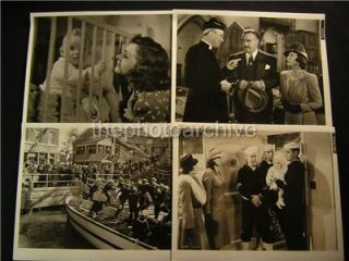 1940 Jon Hall Sailors Lady VINTAGE Keybook 8 WW2 Movie PHOTO LOT 571A