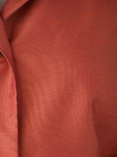 Womens Sz 18 Copper Blazer Jacket Jonathan Logan