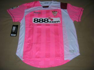 Sevilla Soccer Jersey Joma Seville Top NEW Football Shirt Maglia Trikot Camiseta