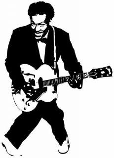 Chuck Berry Sticker Vinyl Decal Johnny B Good