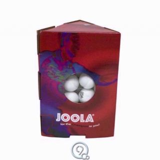 Joola Magic 40mm Practice Table Tennis Balls Ping Pong Beer Pong 48 Count White