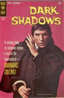 DARK SHADOWS 2 Gold Key Comic Book August 1969 Jonathan Frid photo cvr no poster