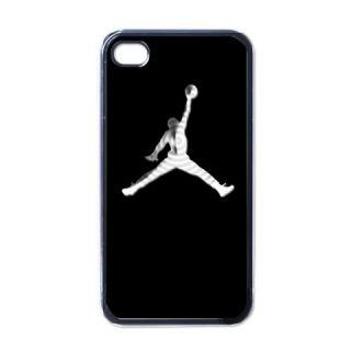 New Michael Jordan Logo iPhone 4 Case Black Nice for Gift FP 2