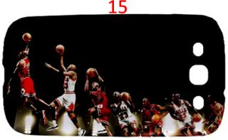Michael Jordan Chicago Bulls NBA Samsung Galaxy S3 s 3 s III Case Casing