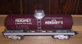 Marx Tin Tank Car in Hershey's Custom Paint Decals