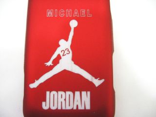 For Samsung Galaxy Precedent Jordan 23 Red Rubberized Hard Case Phone Cover