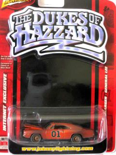 Johnny Lightning Dukes of Hazzard Dirty General Lee