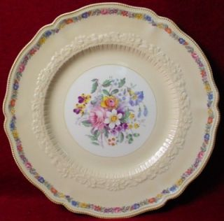 Johnson Brothers China Dubarry pttrn Dinner Plate Craze