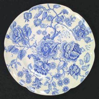 Johnson Brothers English Chippendale Blue Dinner Plate