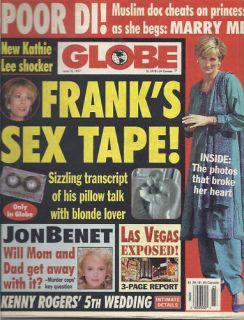 Globe Princess Diana Kathie Lee Gifford Jonbenet Ramsey
