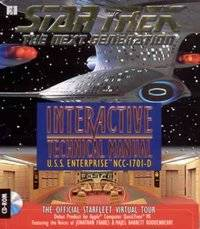 Star Trek TNG Interactive Technical Manual PC CD Tool