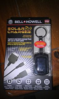Bell Howell solar charger in Cell Phones & Accessories