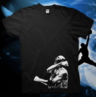 Michael Jordan High Quality Cotton T Shirt NBA Bulls Slam Dunk 23 All Star