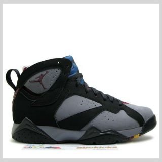 Air Jordan 7 Retro Bordeaux 2011 Black Graphite CDP Hare Cardinal VII 304775 003