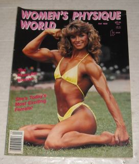 Fall 1989 WOMENS PHYSIQUE WORLD BODYBUILDING MAGAZINE NIKKI GARNER