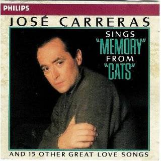 """Jose Carreras """"Memory"""" from """"Cats"""" 15 Great Love Songs 028941697325"""