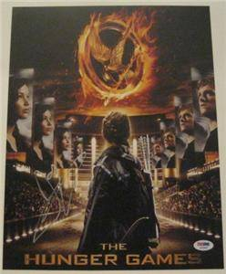 Josh Hutcherson Hunger Games Signed Authentic 11x14 Photo Autograph PSA DNA COA