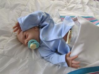 Reborn Doll Must See Boy Tanner w Belly Plate