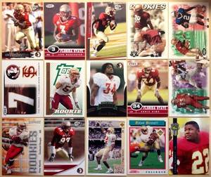 FLORIDA STATE Seminoles Football team lot of 64 No Duplicates Dunn Ward