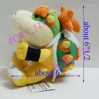 New Super Mario Brothers Plush Figure Bowser Jr