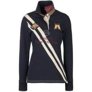 Joules Fall 2011 Alcott Long Sleeve Polo Shirt Ladies 20 Off Sale