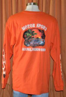 Harley Davidson San Juan Puerto Rico HD T Shirt Mens XL