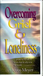 Joyce Meyer Overcoming Grief Loneliness Grieving Healing Audiobook Cassettes
