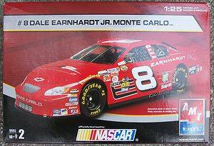 NASCAR Dale Earnhardt Jr 8 Jr Motorsports Chevy MC Model Kit AMT