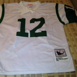 Joe Namath Mitchell and Ness Throwback Jersey