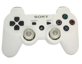 8Mode PS3 Rapid Fire Dualshock3 Controller LED Lighting Light Up White COD7 MW3