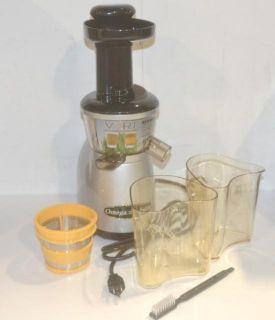 Omega Vert Low Speed Household Counter Top Juicer Machine VRT350