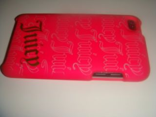 Juicy Couture iPod Touch Case 4G Hot Pink NIB