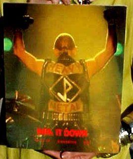 Judas Priest 1988 Mercenaries of Metal Tour Program Mint Condition Unused