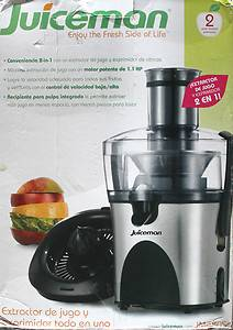 Juiceman JM480S 2 in 1 Power Citrus Juicer Fuit Vegetable Juice Extractor