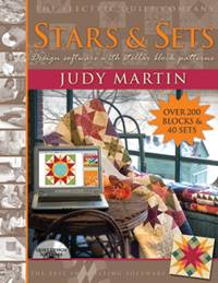 Judy Martin's Stars and Sets Quilt Design Software CD Quilting Electric Quilt Co
